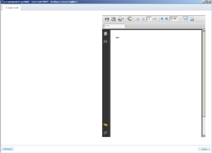 PDF document in Metastorm form