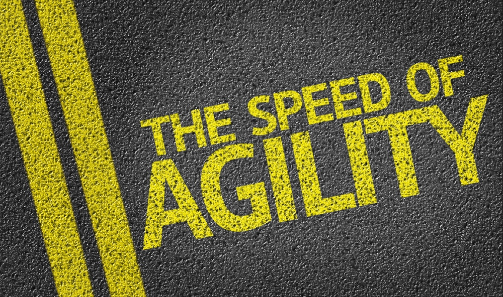 The Speed of Agility written on the road.jpeg